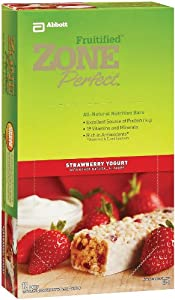 Zone Perfect - Zone Perfect Strawberry Yogurt, 12 bars