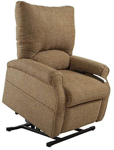 Mega Motion Easy Comfort Elk 3 Position Lift Chair Chaise Lounge Recliner - Suede Color Fabric