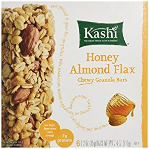 Kashi Chewy Granola Bar-Honey Almond Flax, 7.4 Ounce Net Wt (Pack of 4)