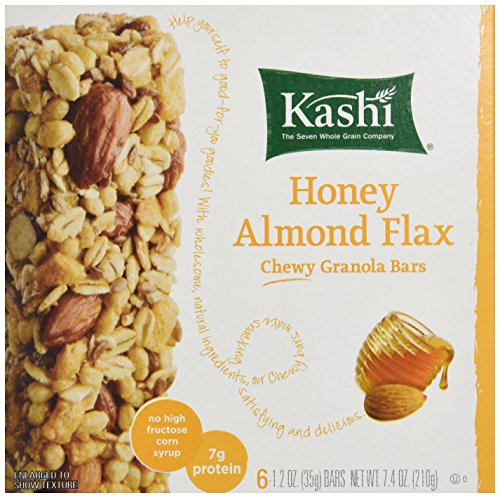Kashi Chewy Granola Bar-Honey Almond Flax, 1.2 oz., 6 count Bars (Pack of 4) (Honey Bar compare prices)