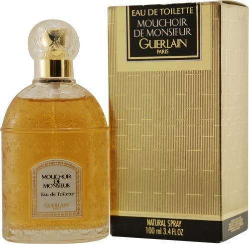 Guerlain Mouchoir de Monsieur Eau de Toilette Spray White Bee Bottle 100ml