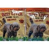 2 pkg. Trader Joe's Beef Liver Begging Treats for Dogs
