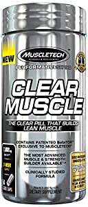 MuscleTech Clear Muscle Supplement, 84 Count