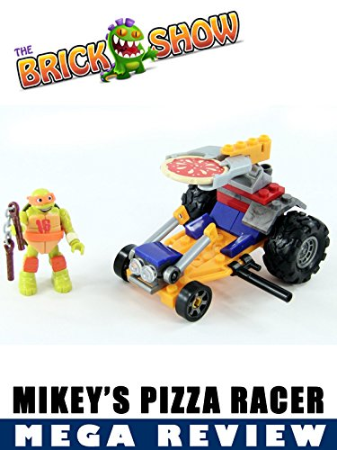TMNT Mega Bloks Mikey's Pizza Racer Review (Teenage Mutant Ninja Turtles Ninja Turtles)