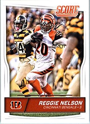 2016 Score #73 Reggie Nelson Cincinnati Bengals Football Card