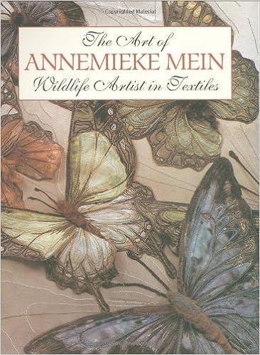 Annemieke Mein The Art of Annemieke Mein Wildlife Artist in Textiles