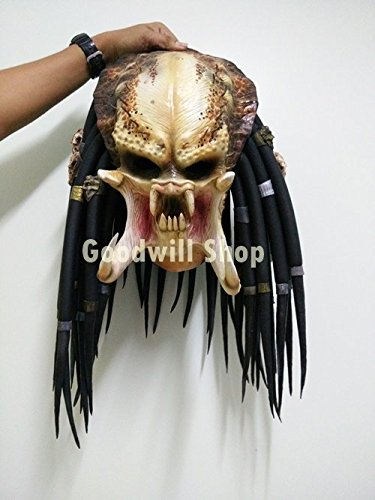 1:1 Predator Replica Mask Latex Helmet Cosplay Costume