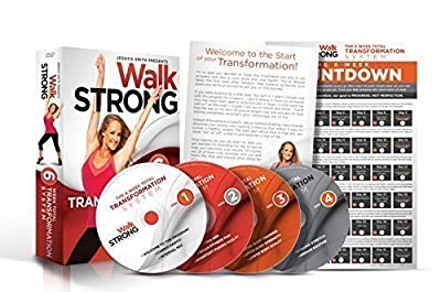 Walk STRONG: Workout Videos For Women, Best Cardio 6 Week Weight Loss DVDs, Low Impact, HIIT Exercises For Women. Beginner To Advanced Fitness, Highest Fat Burning. Best Value.