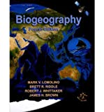 Mark V. Lomolino,brett R. Riddle, Robert J. Whittaker, James H. Brownsbiogeography, Fourth Edition [Hardcover](2010)