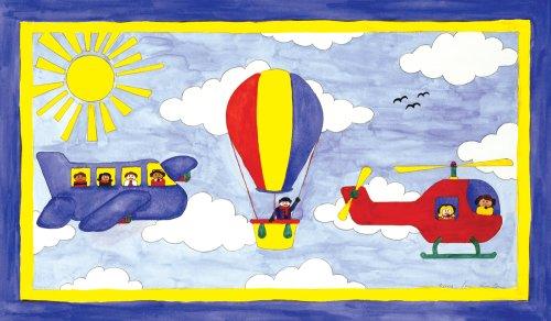 "Art 4 Kids ""Big Flyin"" Mounted Art Print, 24""X14"" front-786872"