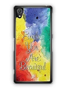 YuBingo Smile. You are Beautiful Designer Mobile Case Back Cover for Sony Xperia Z2