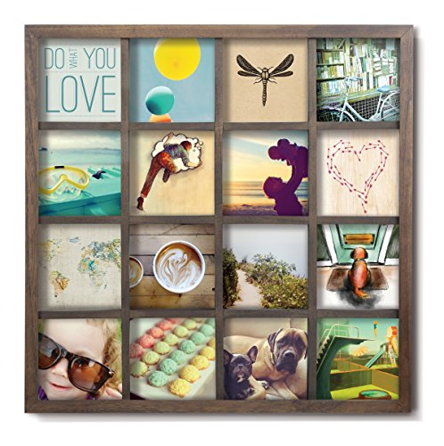 Umbra Gridart Collage Picture Frame, Walnut (Picture Frame Display compare prices)