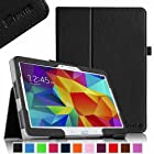 Fintie Samsung Galaxy Tab 4 10.1 Folio Case - Slim Fit Premium Vegan Leather Cover for Samsung Tab 4 10-Inch Tablet (with Auto Sleep/Wake Feature), Black