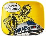 スケーター メラミン ミニプレート 小物置き ミニ食器 スターウォーズ C-3PO MPSQ1