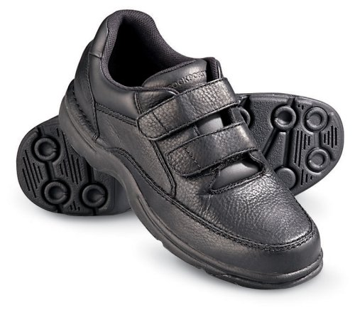 Buy Men's Rockport® Ellery Velcro® Walking Shoes Black