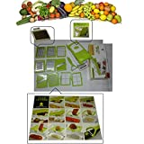 VEGETABLE & FRUIT CUTTER (1 Chopper And 11 Blades)