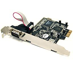 PCI-Express Card with 1 Serial ports