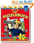 Puzzlebuch Feuerwehrmann Sam: Mit 4 P...
