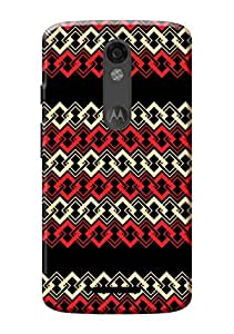 Moto X Force Back Cover + Free Mobile Viewing Stand