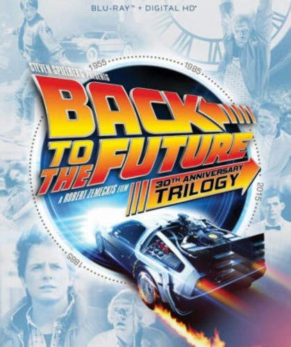 Blu-ray : Back To The Future 30th Anniversary Trilogy (4 Discos)