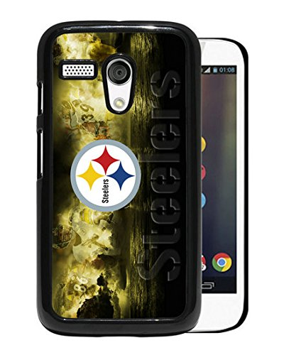 Amazing Design With Advanced Pittsburgh Steelers 09 Black Motorola Moto G Cover Case at Steeler Mania