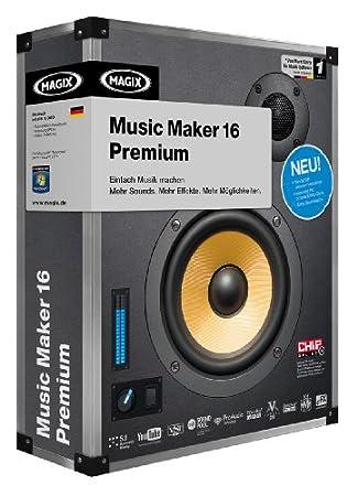 MAGIX Music Maker 16 Premium