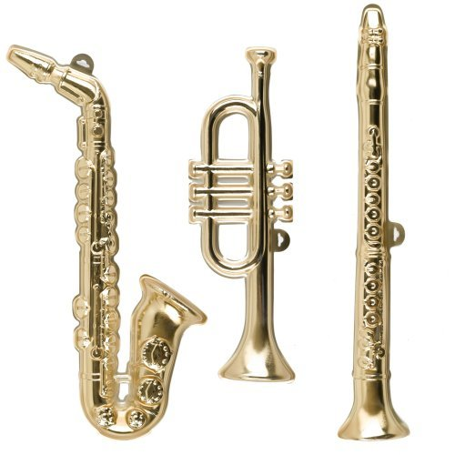 Musical Instrument Wall Decorations (set of 3) Child
