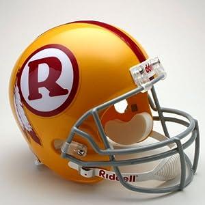 NFL Riddell Washington Redskins Gold 1970-1971 Throwback Replica Full-Size Helmet by Riddell