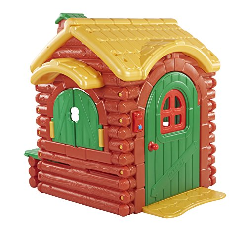 ECR4Kids Children's Wilderness Log Cabin Playhouse
