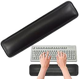 SOOKOO PU Leather Keyboard Wrist Rest, 14.5\