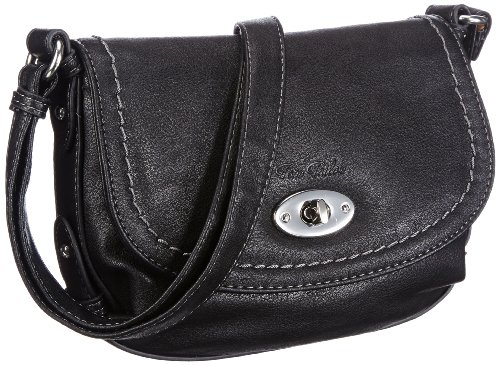 Tom Tailor Acc LINN Handtasche Shoulder Women black Schwarz (schwarz 60) Size: 24x17x8 cm (B x H x T)