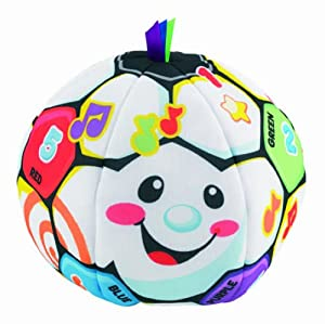 Fisher-Price Laugh and Learn Singin Soccer Ball by Laugh & Learn