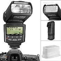 Altura Photo E-TTL Auto-Focus Dedicated Flash For Canon EOS Rebel T5i T4i T3i T2i T1i DSLR Cameras + Protective...