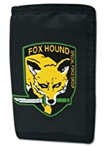 Metal Gear Solid Fox Hound Special Forces Logo Wallet