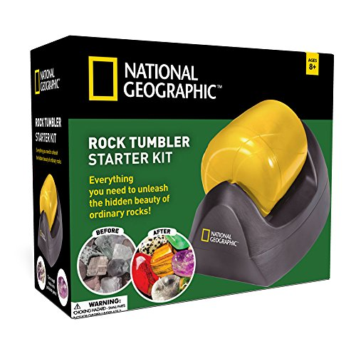 National Geographic Rock Tumbler Starter Kit (2016 Release) (Rock For Kids compare prices)