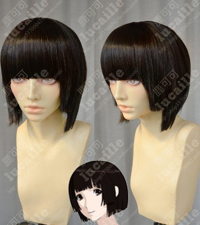 [BERGAMO SHOP] Cydonia Knights star white leave (want me quiet) wind high quality wig ★ cosplay + private net * W1479