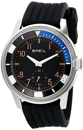 Breil Milano Men'S Tw1151 Orchestra Analog Display Japanese Quartz Black Watch