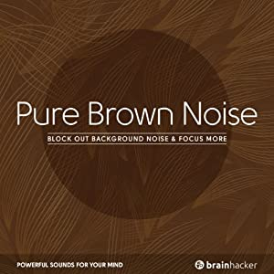 Pure Brown Noise Speech