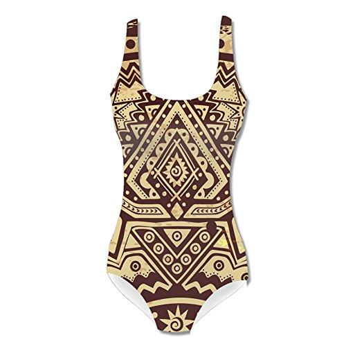 Egypt tribal symbol women's Swimsuit L