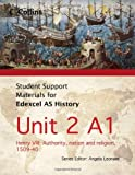 Sarah Moffatt Student Support Materials for History - Edexcel AS Unit 2 Option A1: Henry VIII: Authority, Nation and Religion, 1509-40