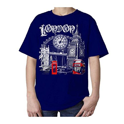 technicolor-souvenir-de-londres-angleterre-uk-t-shirt-pour-enfant-bleu-13-ans