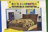 Zoobilee Zoo Animals Twin Reversible Comforter Kids Safari Animal Bedding