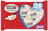Hershey's Valentine's Cookies 'n' Creme Chocolate Bars, 13.7-Ounce Bags (Pack of 3)
