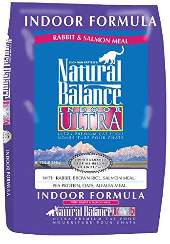 Natural Balance Indoor Ultra Rabbit & Salmon Meal Dry Cat Formula