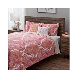 Share facebook twitter pinterest qty 1 2 3 4 5 6 - Red and orange comforter sets ...
