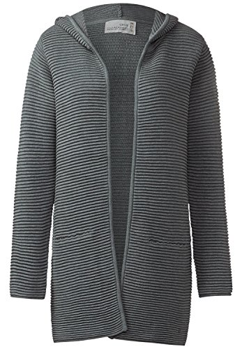 Cecil -  Cardigan  - Basic - Maniche lunghe  - Donna light graphit melange Small