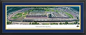 NASCAR Tracks - Indianapolis Motor Speedway Aerial - Framed Poster Print by Laminated Visuals