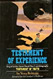 Testament of Experience:  An Autobiographical Story of the Years 1925-1950 (0872236811) by Brittain, Vera