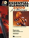 img - for Essential Elements 2000 for Strings - Book 1 - Cello - BK+CD book / textbook / text book