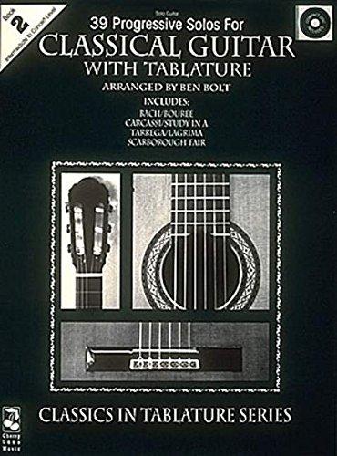 39 Progressive Solos for Classical Guitar: Book 2 (Thirty-Nine Progressive Solos for Classical Guitar)